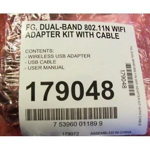New Dish Network WiFi Adapter Kit Dual Band 802 11n with Cable