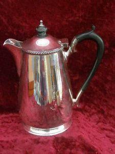 Antique Harrods Silver Plated Tea Pot Hot Water Jug Tableware