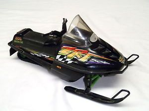 1996 Arctic Cat ZRT 600 Snowmobile Diecast Toy Artic Model Collectible