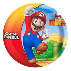 Super Mario Bros Party Supplies Tableware You Pick