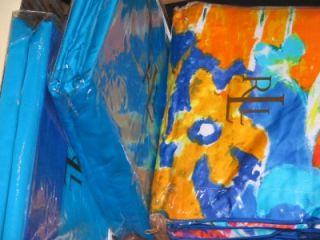 Ralph Lauren Isle Capri Turquoise Queen Duvet 12pc Set