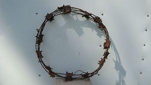 Barbed Wire Decor