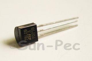 78L09 9V 100mA Positive Voltage Regulator TO92 St 10pcs