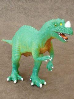 ↓more Pictures↓ AAA ELC Ceratosaurus Plastic Toy Dinosaur Model Figure Animal
