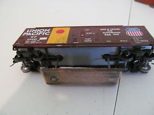 HO Scale Up Track Cleaning Box Car Home Made