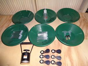 Gold 6 Panning Kits Mining Mine Dredge Sluice Goldrush Gold Mine Cleanup