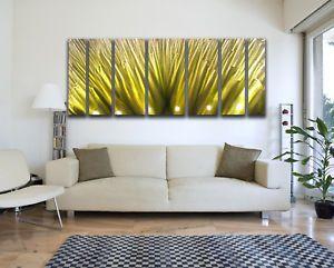 Modern Abstract Metal Wall Art Painting Sculpture Decor