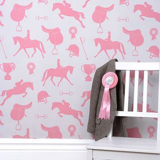gymkana wallpaper   sand & coral by nubie modern kids boutique