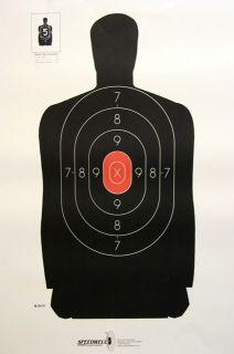 30 Silhouette Shooting Targets Pistol Targets Lot 42