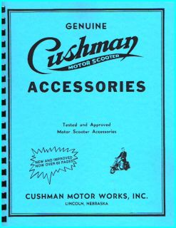 cushman scooter parts