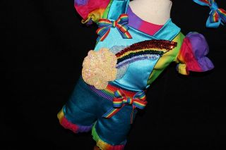 National Pageant Casual Wear OOC Bright Rainbows 18 3 $1NR bcb 1 Day Auction