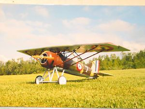 Morane Saulnier Type A 1 1 3 Scale Model Airplane Kit WWII RC Radio Control Nice