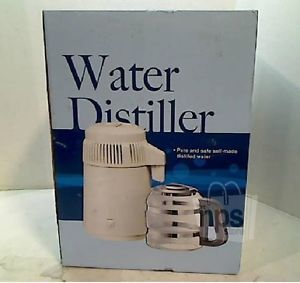 Megahome MH943SBS Countertop Stainless Steel Water Distiller w Glass Collection
