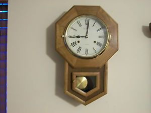 Vintage 31 Day Legant Chime Regulator Wall Clock