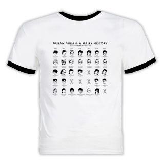 Duran Duran A Hairy History T Shirt