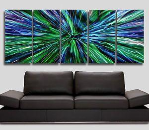 Large Abstract Metal Wall Art