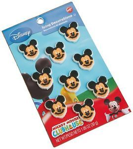 Wilton Mickey Mouse Clubhouse Icing Decorations Disney Party