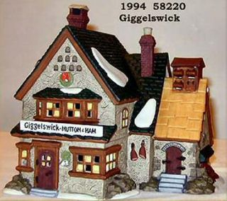 Giggelswick Mutton Ham New Department Dept 56 Dickens Village DV