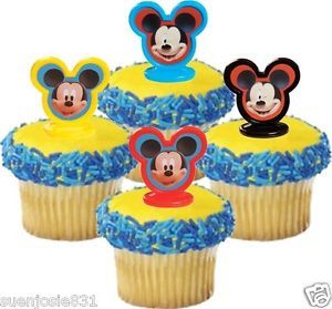 Mickey Mouse Cake Toppers Decorations