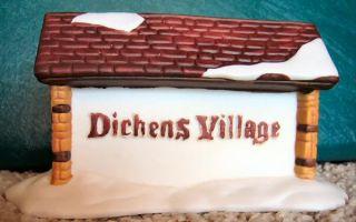 Dickens Village Sign New Department Dept 56 D56 DV