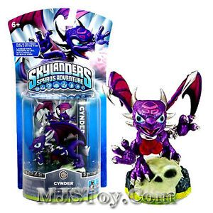 Hot Skylanders Spyro's Adventure Action Figure Cynder Skylander Very RARE