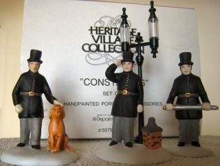 Constables New Department Dept 56 Dickens Village D56 DV