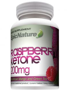 90x Raspberry Ketone Plus African Mango Green Tea Natural Slimming Diet Pills
