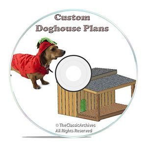 Insulated Dog House Plans Complete Set Multiple Dog Kennel with Porch Plans