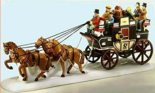 Holiday Coach New Department Dept 56 Dickens Village D56 DV