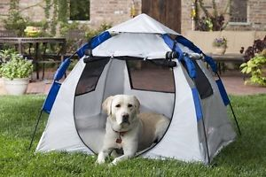 Abo Gear Portable Outdoor Camping Dog Haus Pet Sun Shelter House Tent abg 10476
