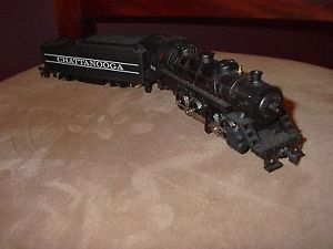 Tyco HO Scale Steam Engine Locomotive Train 638 Chattanooga Vintage