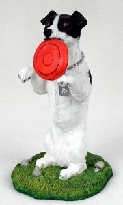 Jack Russell Terrier Statue Figurine Home Garden Decor Dog Products Gifts