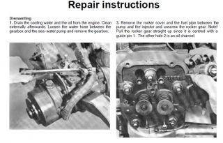 Volvo Penta Diesel Engine Workshop Manual MD5A Boat Marine MD5A Full Manual CD