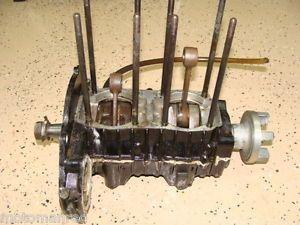 88 87 89 Kawasaki JS550 jetski Jet Ski Engine Crank Bottom End Cases Crankshaft