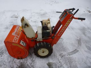 Simplicity 560 5HP Snowblower Snow Thrower Blower Tecumseh Engine
