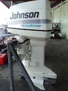 25 HP Evinrude Outboard Motor