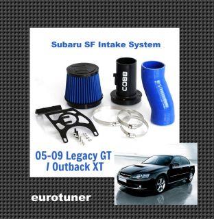 Cobb Tuning 05 09 Subaru Legacy GT Outback XT SF Intake Blue Hose