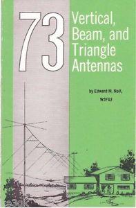 Vertical Beam and Triangle Antennas CDROM PDF