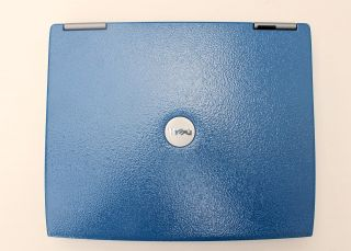 Dell Latitude D600 Notebook Customized to Blue Loaded WinXP Msoffice Antivirus