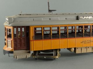 DTD O Scale Trolley Ber 5054 Passenger Custom Electric Engine Boston Elevated