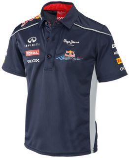 Authentic Infiniti Red Bull Racing F1 Team 2013 Toddler Junior Team Polo Shirt