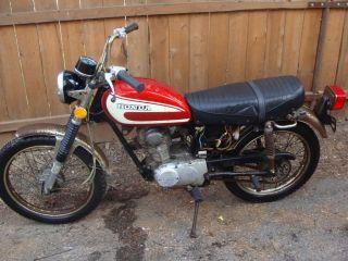 1974 Honda CL 125 CB SL