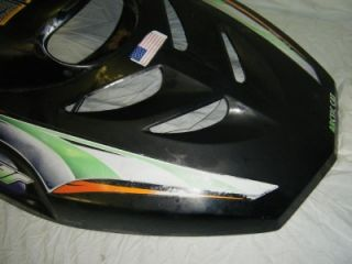 98 Arctic Cat Cougar 550 Mountain Cat Snowmobile Cowl Nose Cover Hood w Decals