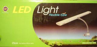 Up Aqua LED Light Clip Clamp Nano Aquarium 8000K 110V
