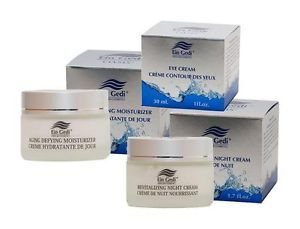 Day Night Eye Dead Sea Mineral Face Care Creams Cosmetics Beauty Aging Set Kit