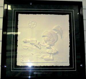 Marvin The Martian Animation Art Cast Paper Sculpture Duck Dodgers Chuck Jones