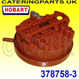 378758 3 Hobart FX30 FX40 Dishwasher Single Water Level Pressure Switch 35 20