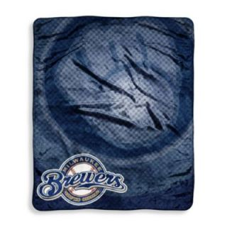 Major League Baseball Milwaukee Brewers Raschel Throw