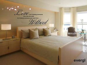 Love Without Quote Wall Sticker Decal Hanging Mural Self Adhesive Paper Art Deco