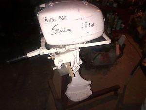 Starling 5 HP Jet Drive Outboard